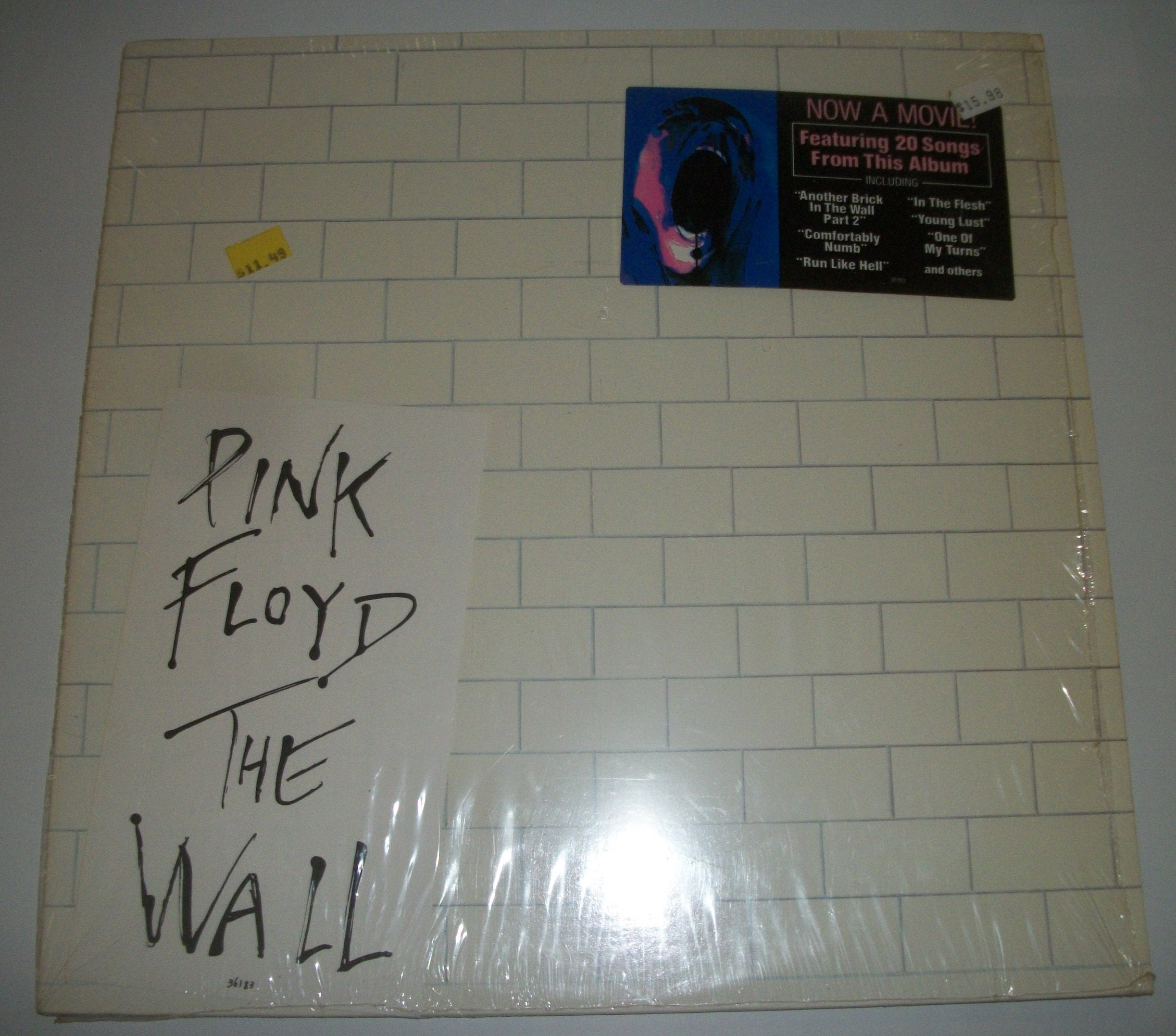 Pink Floyd The Wall Original Shrink 1979 Columbia Records