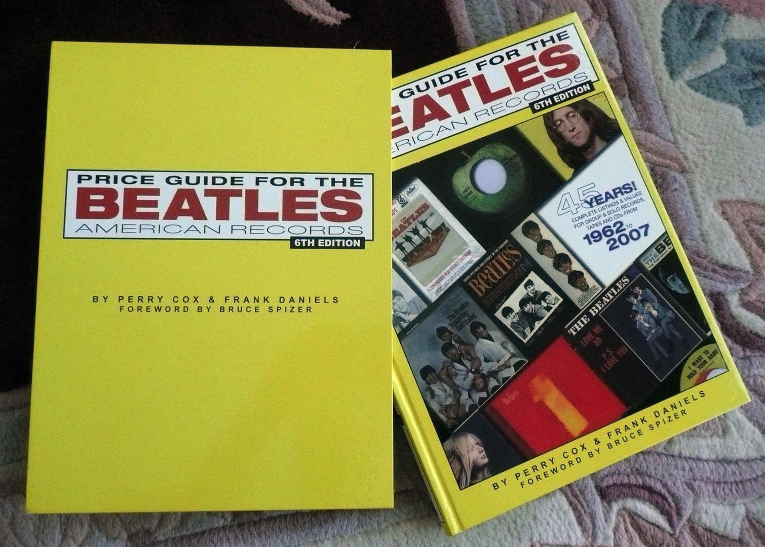 Price Guide for Beatles American Records (2007) SIGNED by