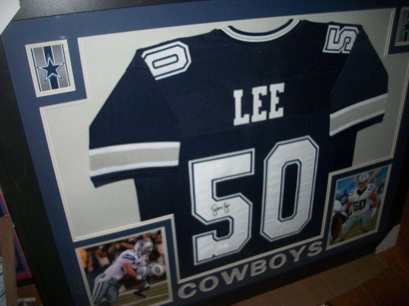 official photos 846c8 e7c80 DISCOUNTED!!! Sean Lee Signed Dallas Cowboys 35x43 Custom ...