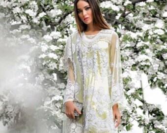 9dfbdb471e Sana Safinaz Luxury Collection-Ready to Wear- Stitched-3 pcs suit