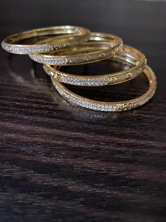 kundan bangles kara set handmade Pakistani wedding party jewelry size 2.4 meena kari jewelry Pakistani jewelry indian women jewelry