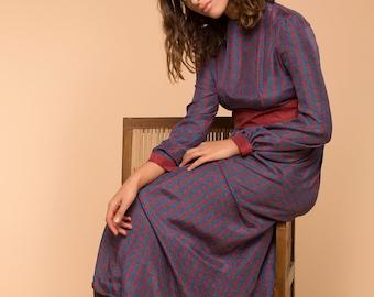 Romantic Silk Maxi Dress