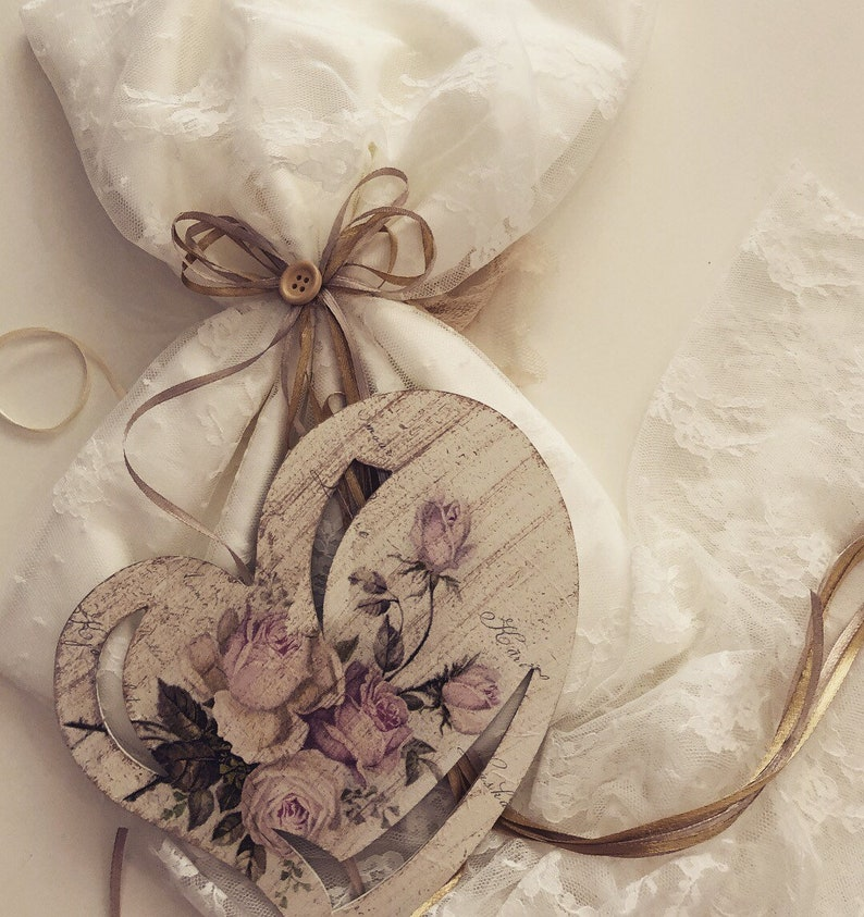 Hand made wrap wreath for girls baptism decoration or decor.