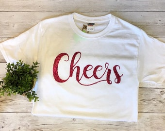 Cheers shirt, New year Shirt, Cheers to a new year shirt, Cheers htv shirt