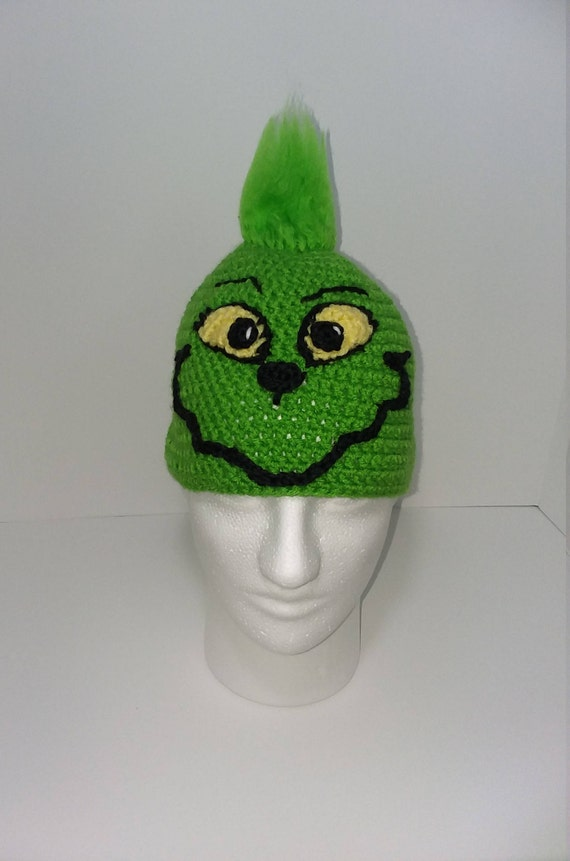 88c6c1504 Grinch Inspired Christmas Winter Party Hat/Mens Christmas  Hat/Womens/Teen/Winter/ Warm/Beanie