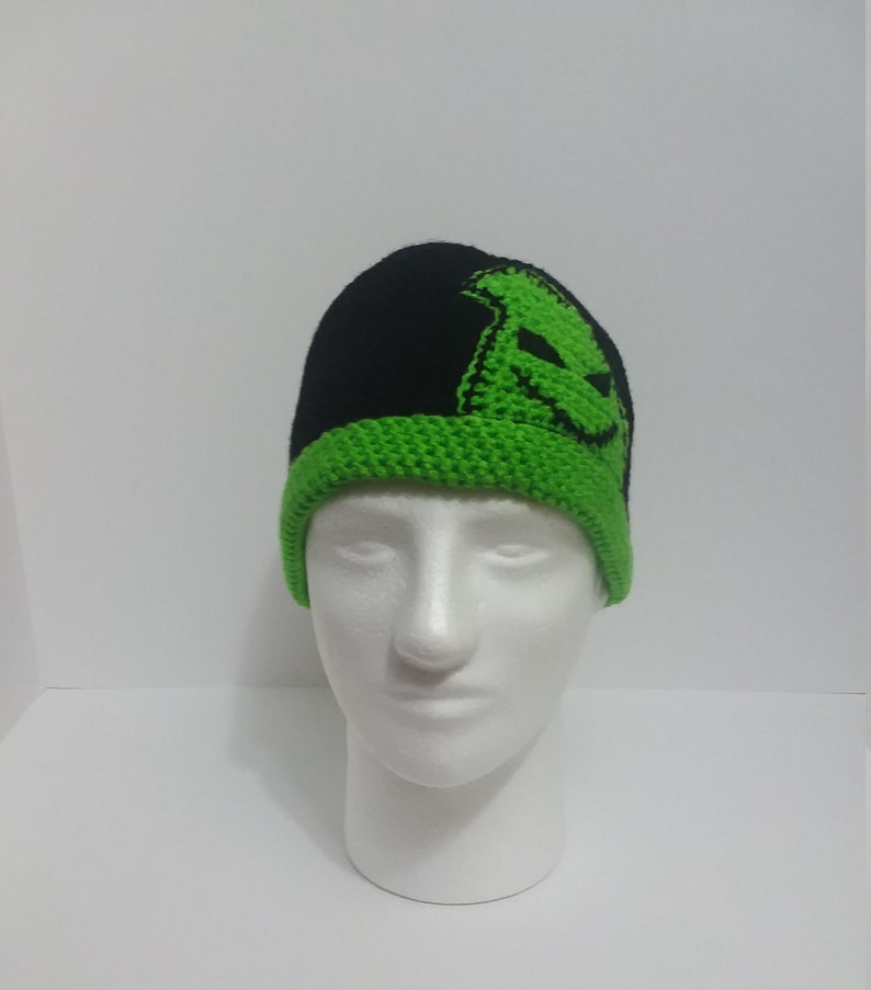 4f99db99df9a7 Oogie Boogie Inspired Winter Hat Nightmare Before Christmas