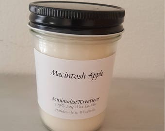 Macintosh Apple-Soy Wax Candle