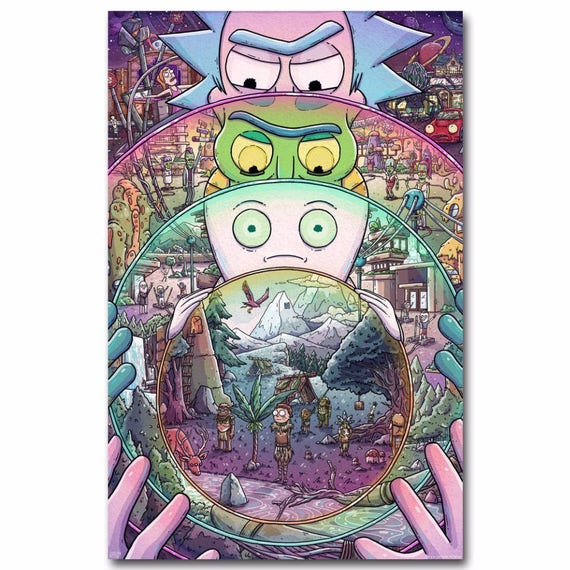 High Quality Rick and Morty Cartoon custom sizes are available  7c8b91b6bd8a