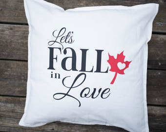 Let's Fall in Love Pillow