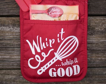 Whip it, Whip it Good Oven Mitt Gift Set