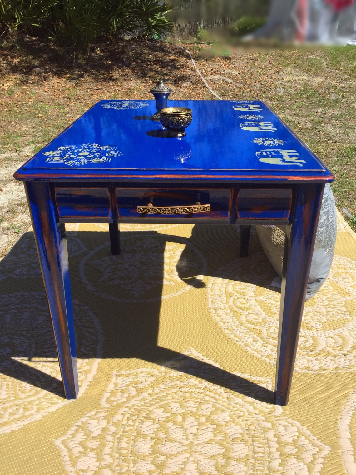 Bohemian Inspired Side Table