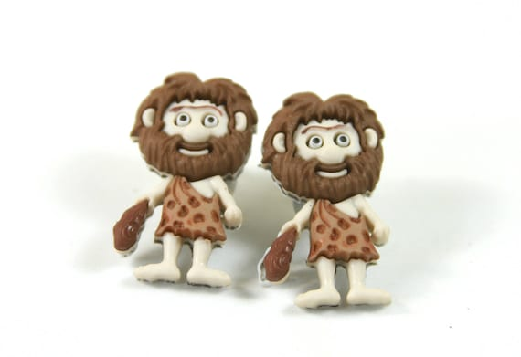 Caveman Earrings Standard