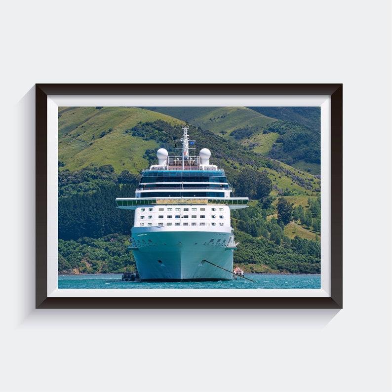 Cruise Ship PHOTOGRAPHY PRINT Large Photograph New