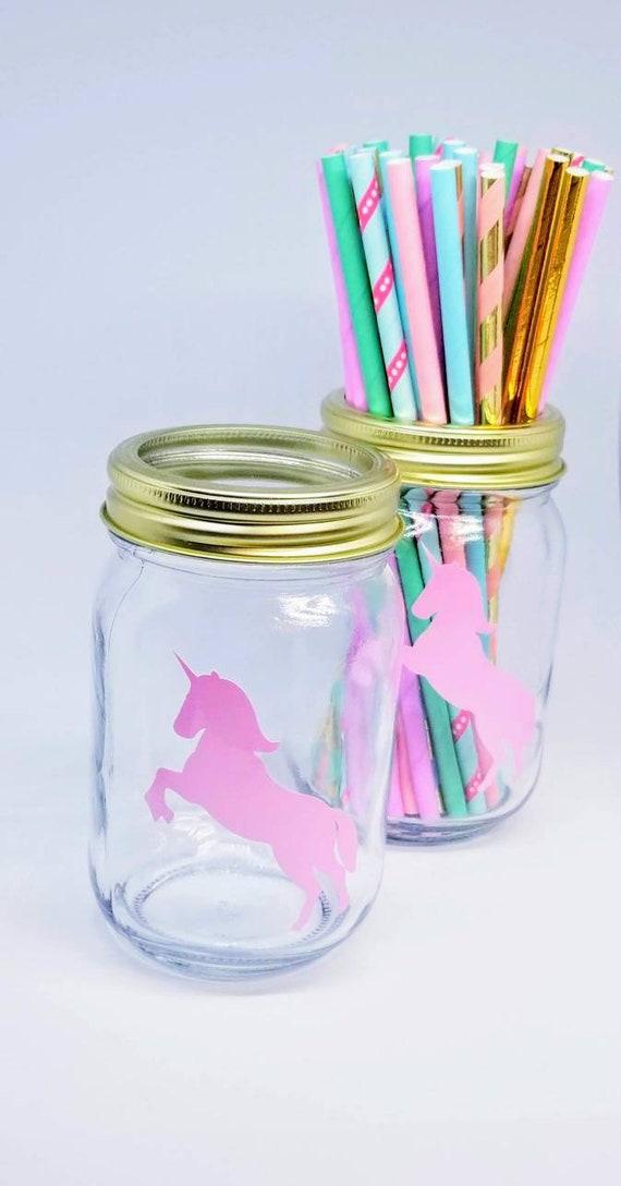 1X Unicorn Eyelashes Face Vinyl Balloon Stickers DIY Craft Decal Party Decor