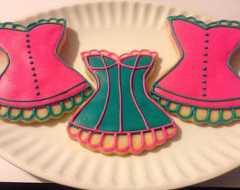 Corset Sugar Cookies