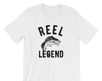 Fishing Shirt, Reel Legend, Fishing Tshirt, Fisherman Shirt, Fisherman Tshirt, Fisherman, Fishing Gifts, Funny Fishing Shirt, Gift for Dad