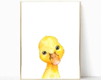 image relating to Printable Ducks referred to as Duck print Etsy