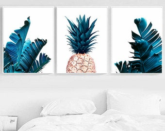 Palm Leaf Wall Decor Etsy