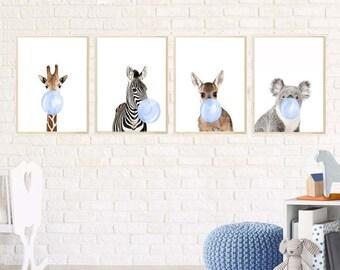 Boy Nursery Art Etsy