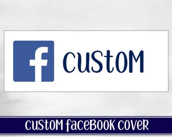 Custom Facebook Page Cover design