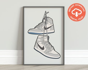 decoration air jordan 1