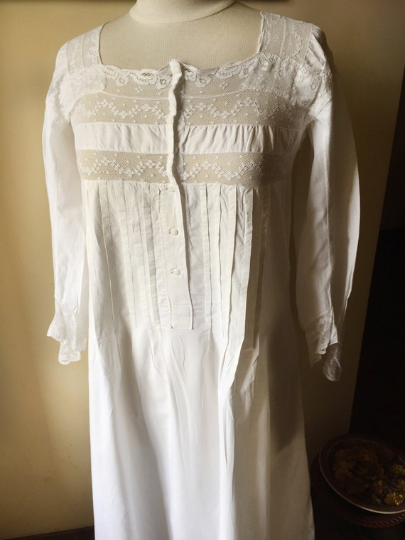Antique french nightgown, Victorian, antique night