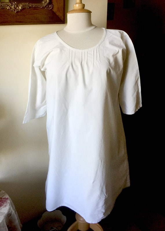 Antique french nightgown, antique nightdress, anti