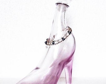 09c00af98da Glass shoe bottle high quality ideal for cosmetics