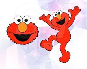 Elmo svg Etsy