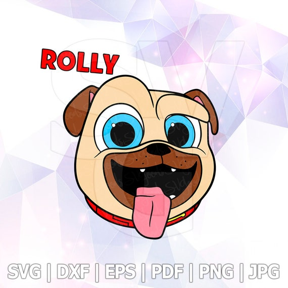 Puppy Dog Pals Set Svg Rolly Head Layered Dxf Eps Logo Vector Etsy