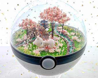 Grasslands Pokemon Terrarium