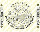 Palo Duro Canyon State Park Shirt Design Exploring Hiking National Park