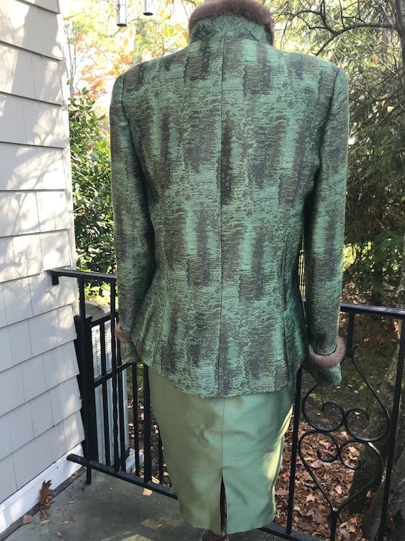 Vintage Miri New York Couture 2pc Dress & Jacket … - image 5