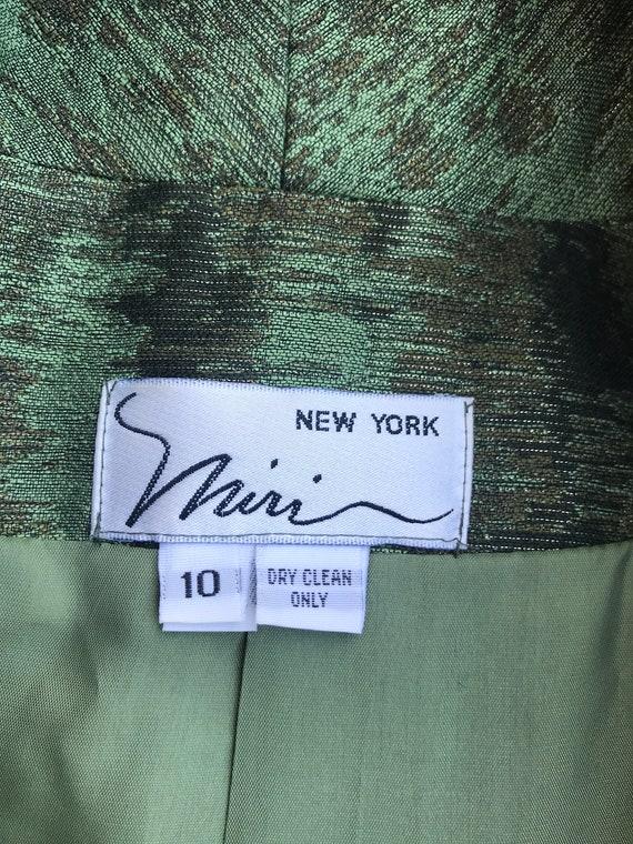Vintage Miri New York Couture 2pc Dress & Jacket … - image 9