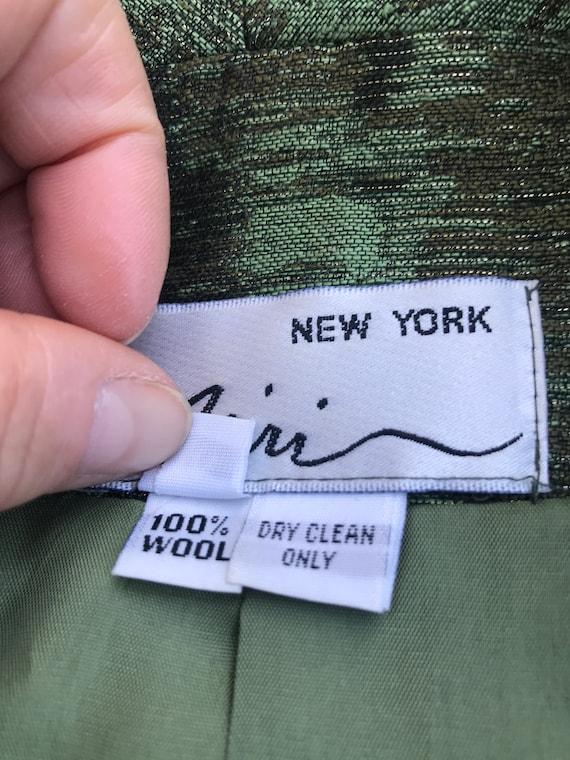 Vintage Miri New York Couture 2pc Dress & Jacket … - image 10