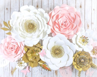 3d Flower Wall Art Etsy