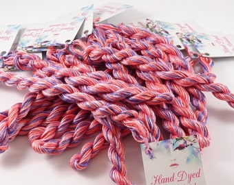 STRANDED Silk 6 x 8 METERS Cross STITCH FT- 12 100/% SILK Floss THREADS