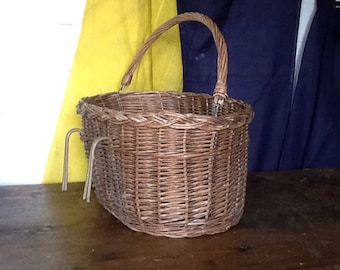 Wicker Basket Bicycle Vintage