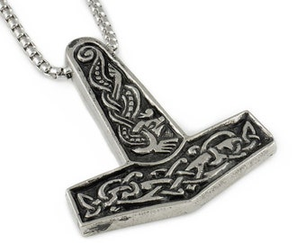 Uppsala Mjolnir Thor/'s Hammer Viling  pewter Keyring