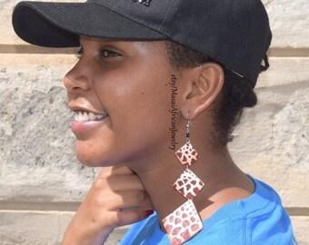 f9296fedeb9c0 African hoop earring | Etsy