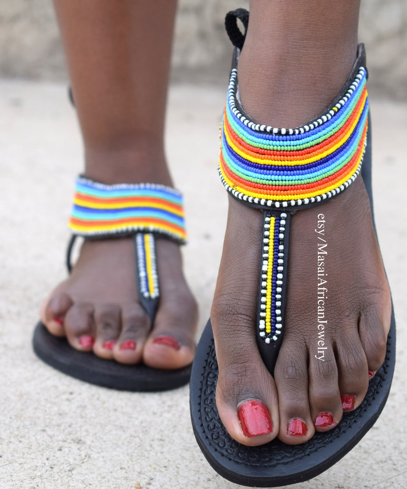 GLADIATOR SANDALS Leather Sandals African Sandals Greek
