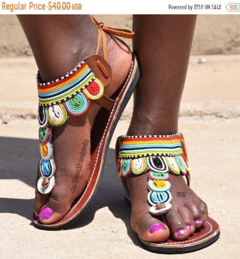 bc223b603 ON SALE Sandal for Woman Africa Shoe Africa Sandal Sandal | Etsy