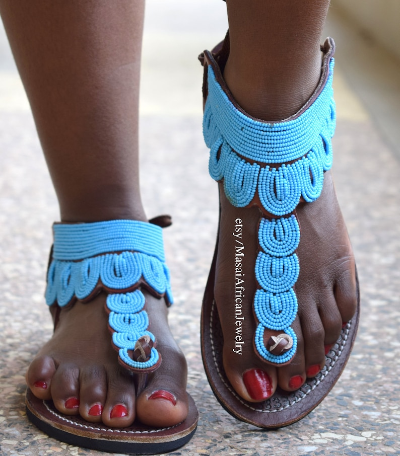 ON SALE WOMEN Sandals, Leather Sandals, African Sandals, Bohemian Sandals, Beaded Sandals, Greek Sandals, Tribal Sandals, Women Shoes, Sanda