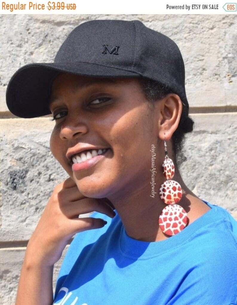 546fce39d5a05 ON SALE HOOP Earrings, African Jewelry, Wooden Earrings, Zulu Earrings,  African Earrings, Bohemian Earrings, Wooden African Jewelry,