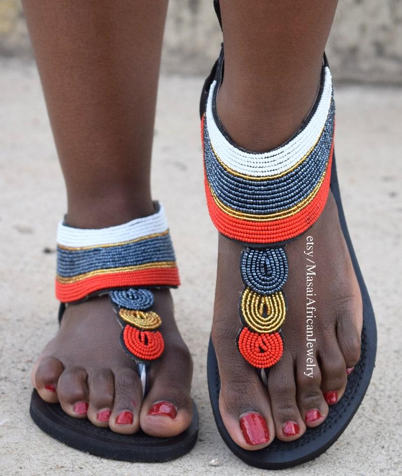 GREEK SANDALS Leather Sandals African Sandals Women