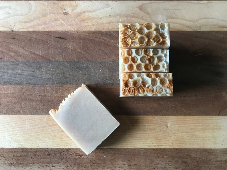 Milk  Honey Bar Soap  vegetarian handmade soap image 0