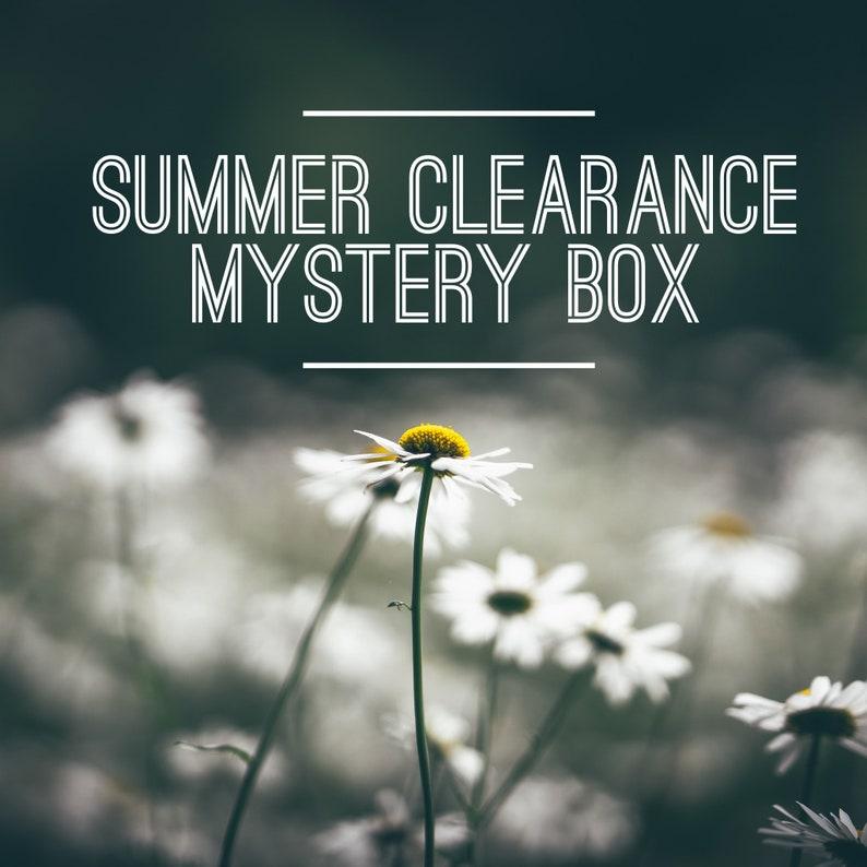 Summer Clearance Mystery Box  bar soaps sugar scrubs soap image 0