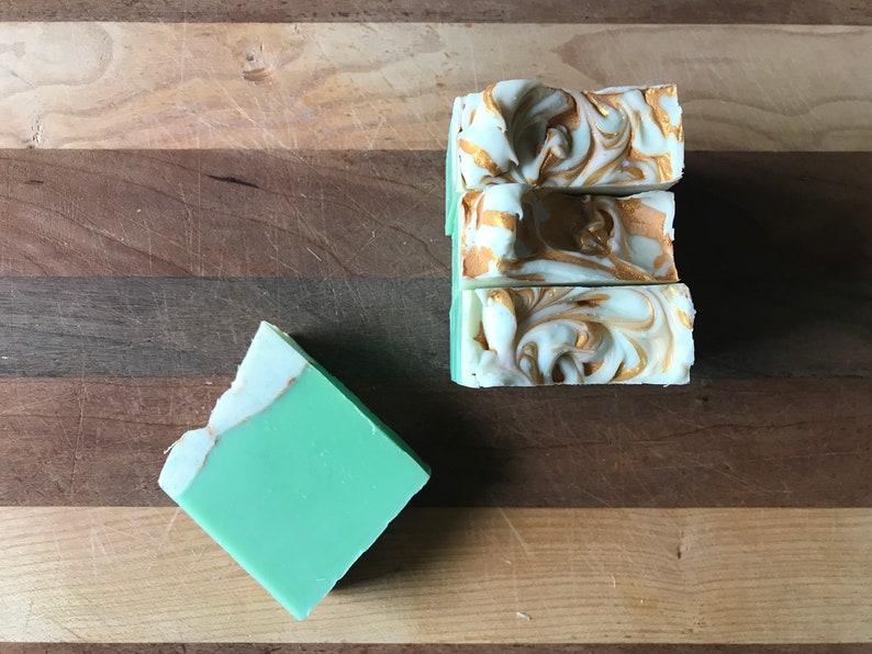Anjou Pear Artisan Vegan Bar Soap  handmade image 0