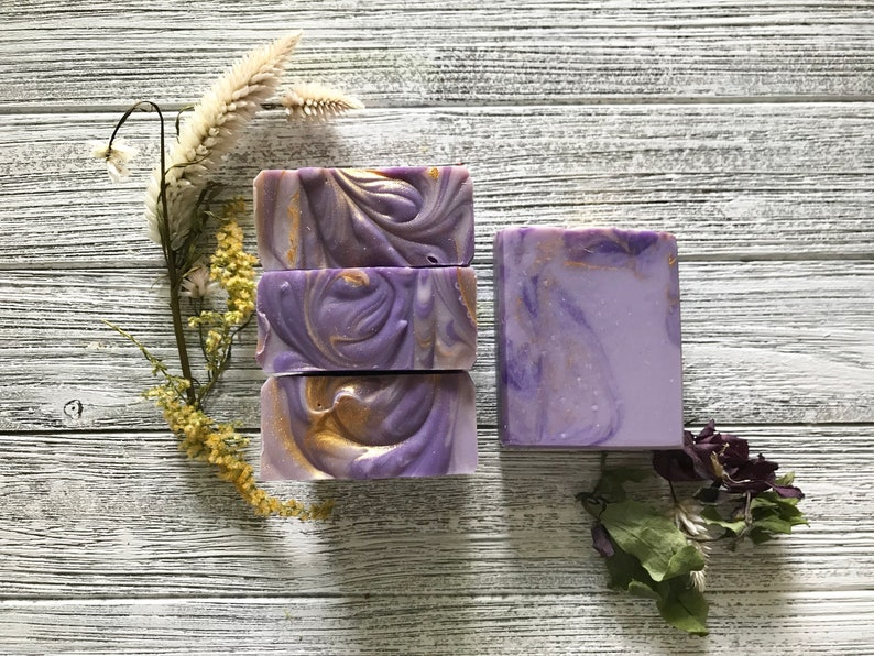 Pure Lavender Vegan Bar Soap image 0