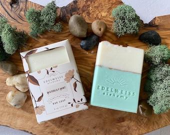 Waterlily Mint Bar Soap